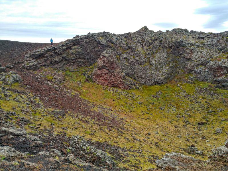 crater saxholl islandia