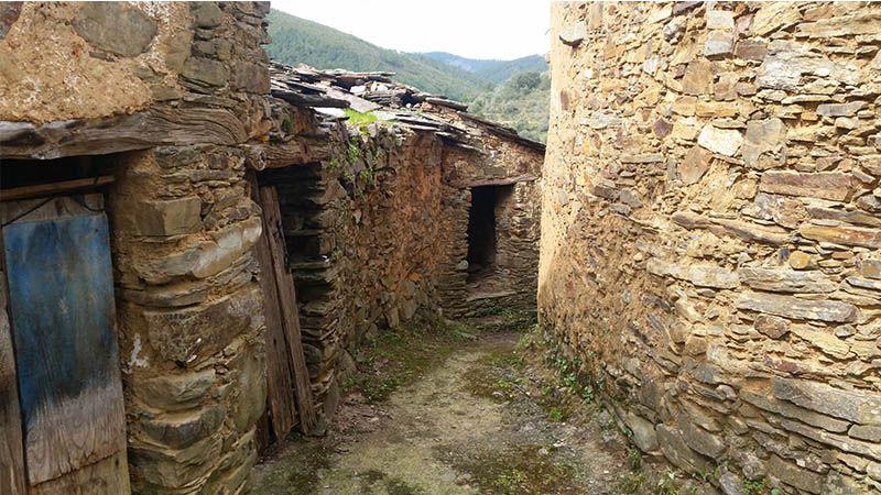Ladrillar, un pueblo tradicional en Las Hurdes