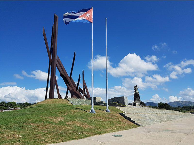 Plaza de la Revolución, en Santiago de Cuba