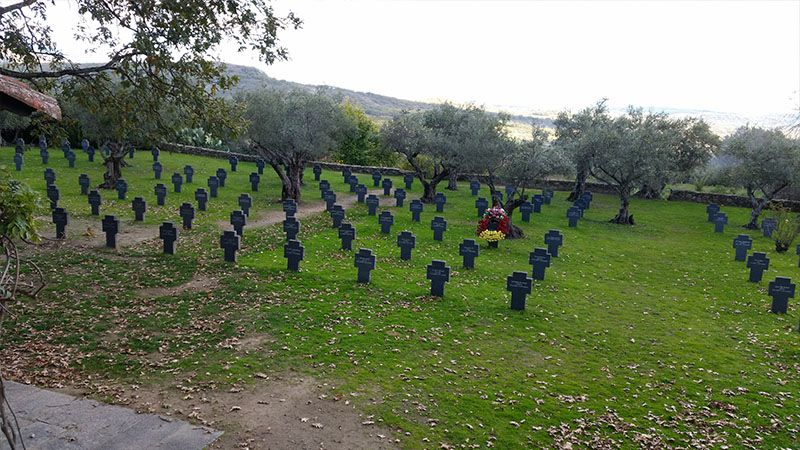Cementerio alemán en Extremadura
