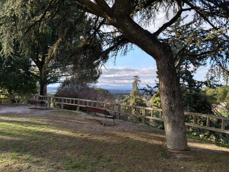vistas desde dehesa de la villa madrid