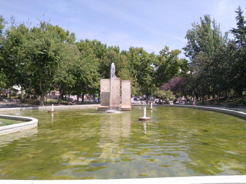 parque de berlin en madrid