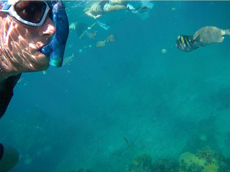 Playa de Coral, en Cuba