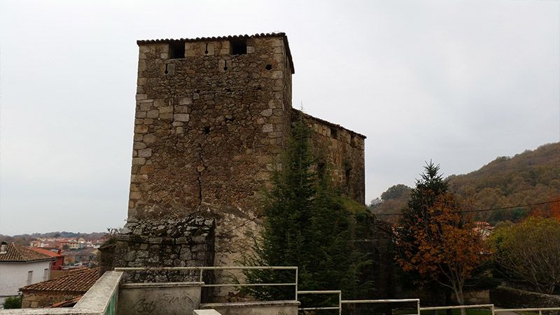 Castillo de los Condes de Nieva, en Valverde de la Vera
