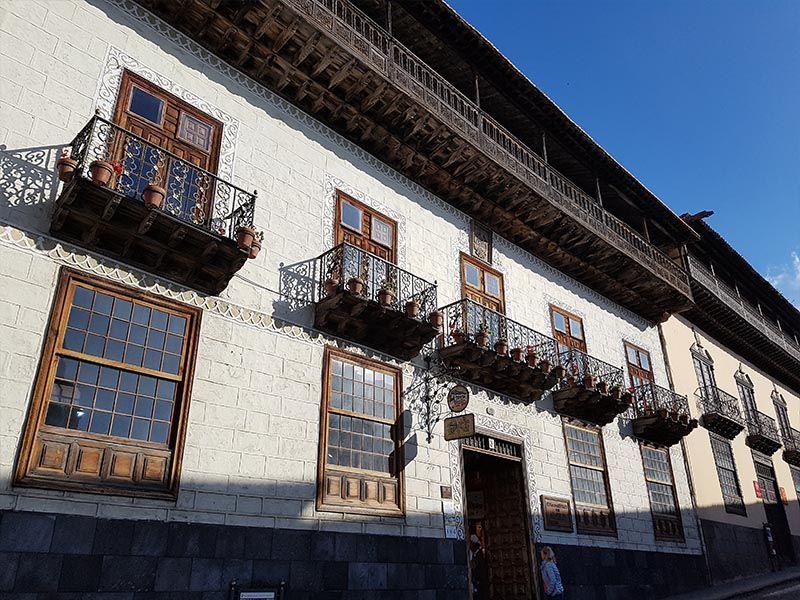 Arquitectura típica en La Orotava