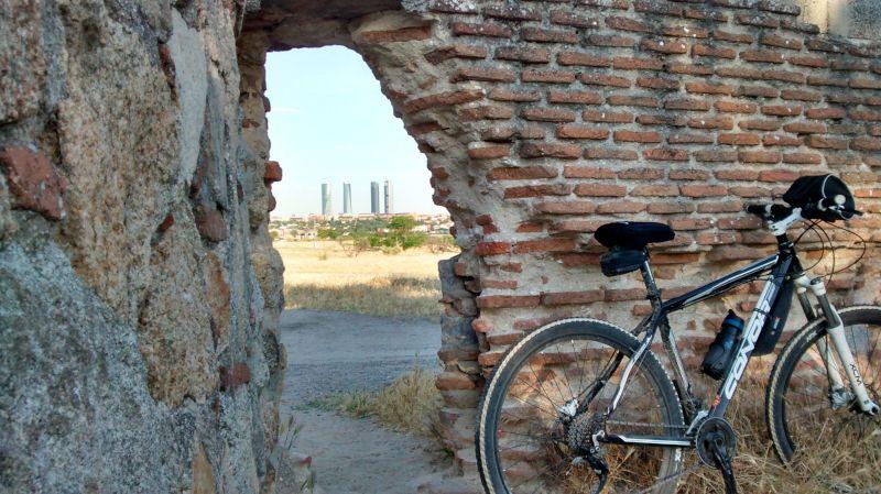 entrada el pardo en bicicleta