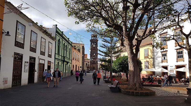 La Laguna, ciudad más cercana al aeropuerto de Tenerife Norte