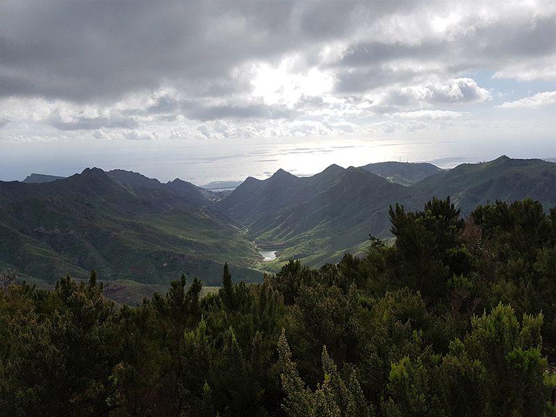 Mirador en el Parque rural de Anaga