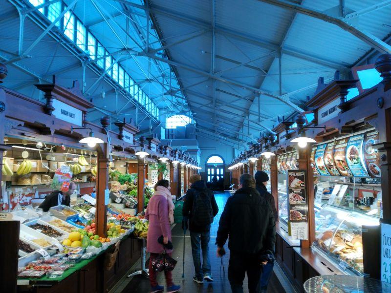 antiguo mercado de helsinki