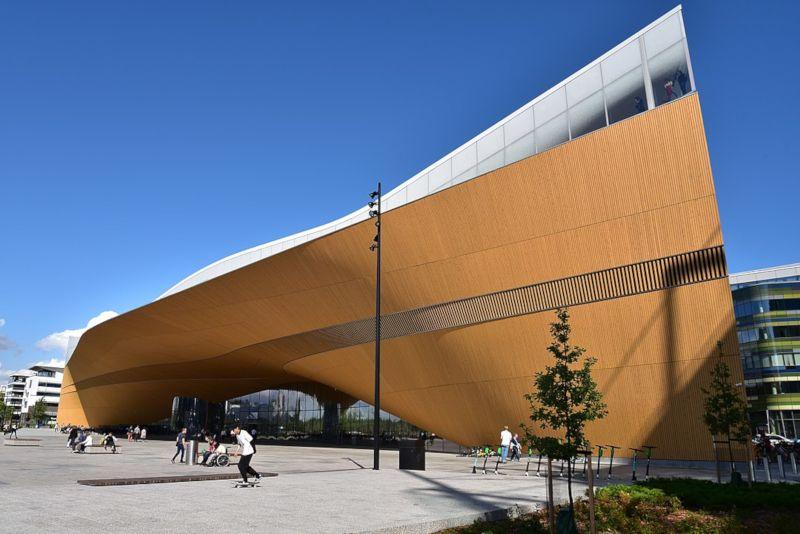 biblioteca central de helsinki oodi