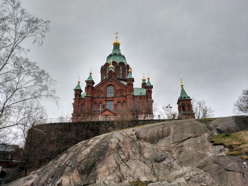 catedral ortodoxa helsinki Uspenski
