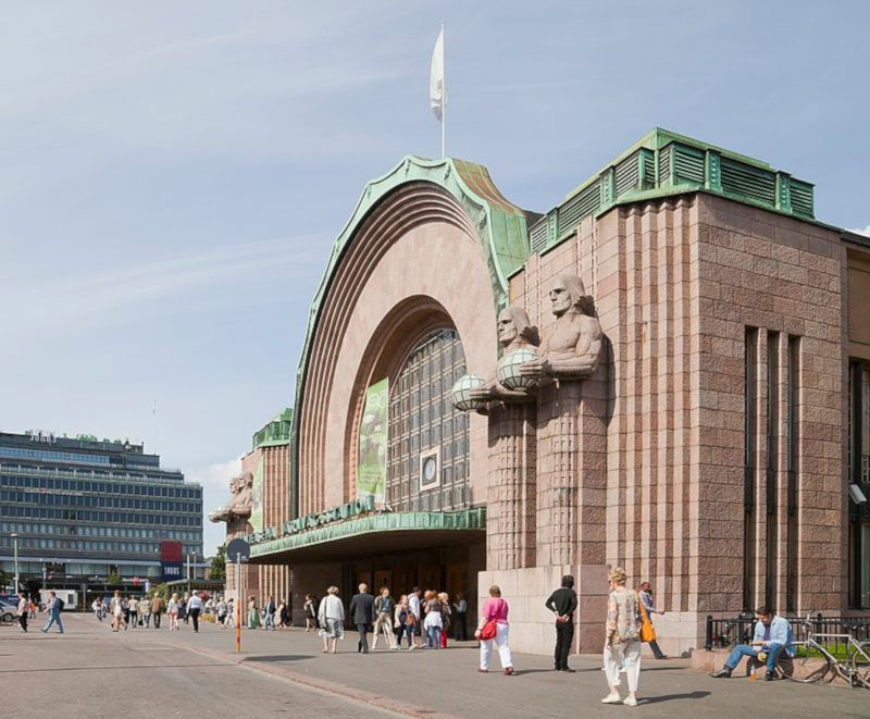 estacion central de helsinki