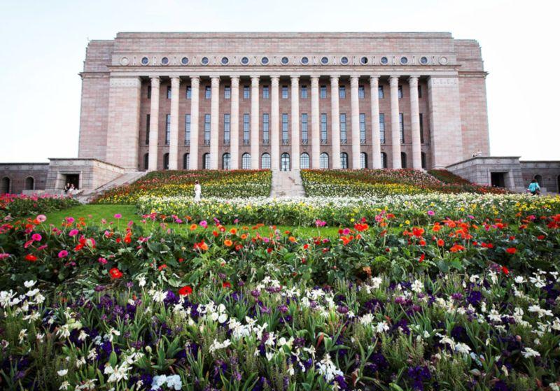parlamento de finlandia en helsinki