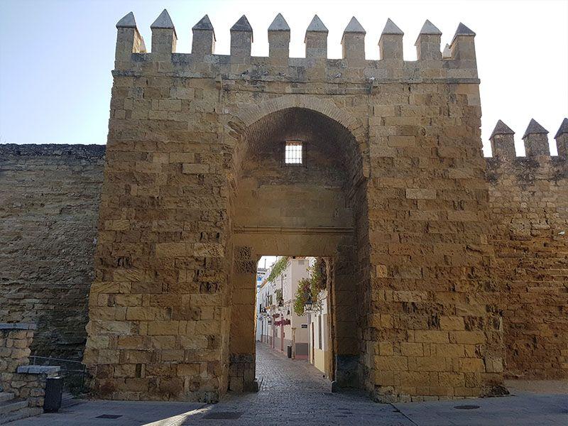 Puerta de Almodóvar, en las murallas de Córdoba