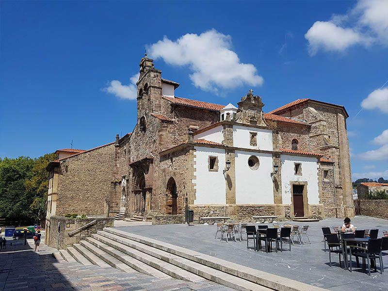 Iglesia de San Antonio, en Avilés