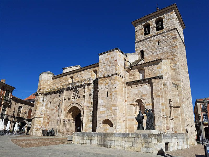 Iglesia de San Juan, en la Plaza Mayor de Zamora