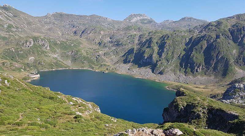 Lago de Calabazosa, el más grande de Saliencia