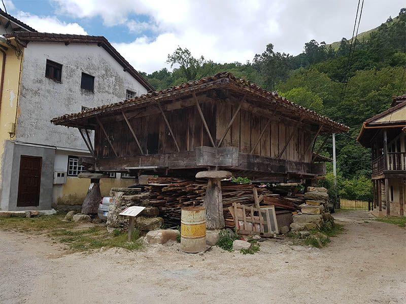 Arquitectura tradicional en Asturias