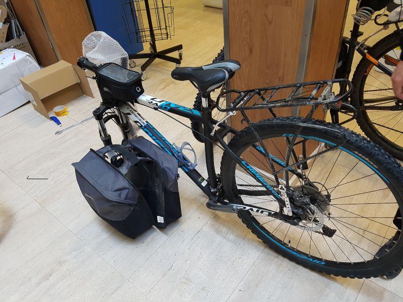 enviar bici por correos camino de santiago