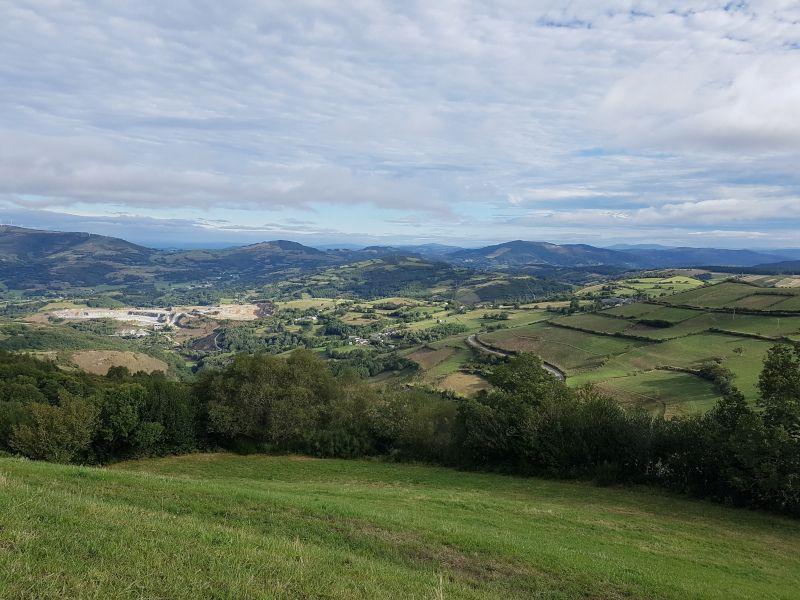 paisajes verdes en galicia