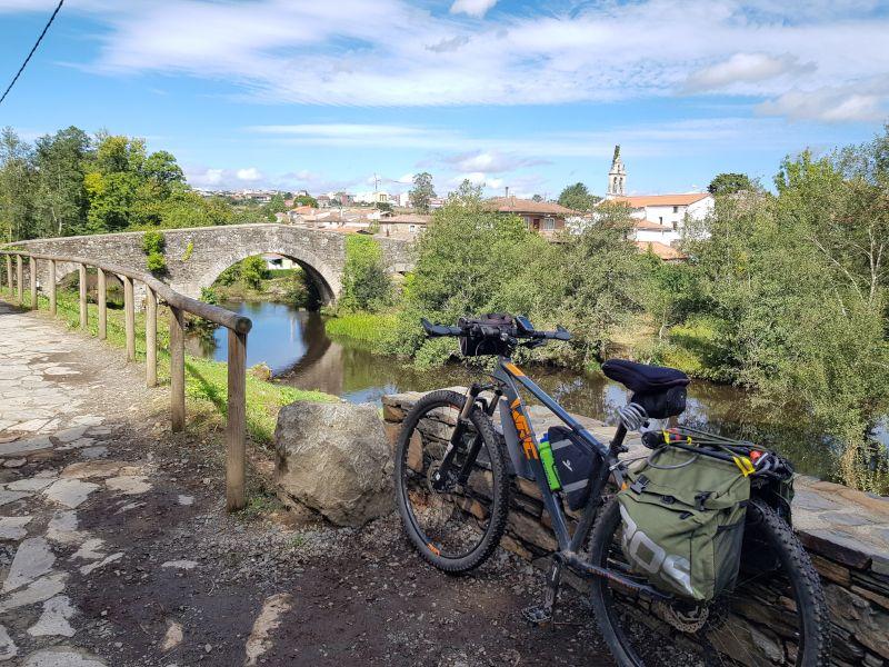 bicicleta camino santiago