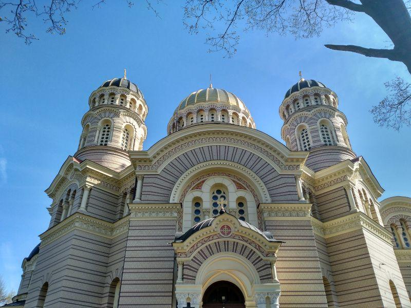 catedral de la natividad de riga, ortodoxa