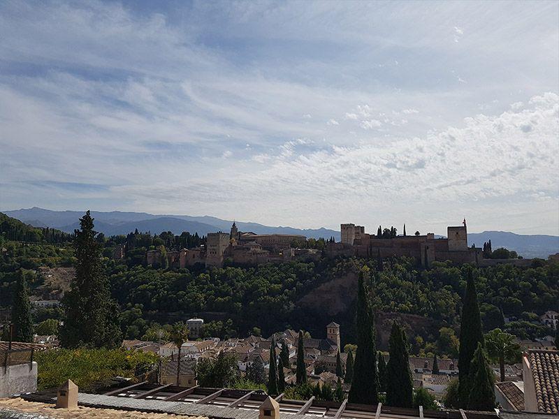 Mirador de San Nicolás, en Granada
