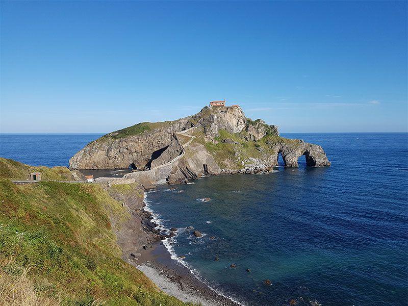 San Juan de Gaztelugatxe, en el País Vasco