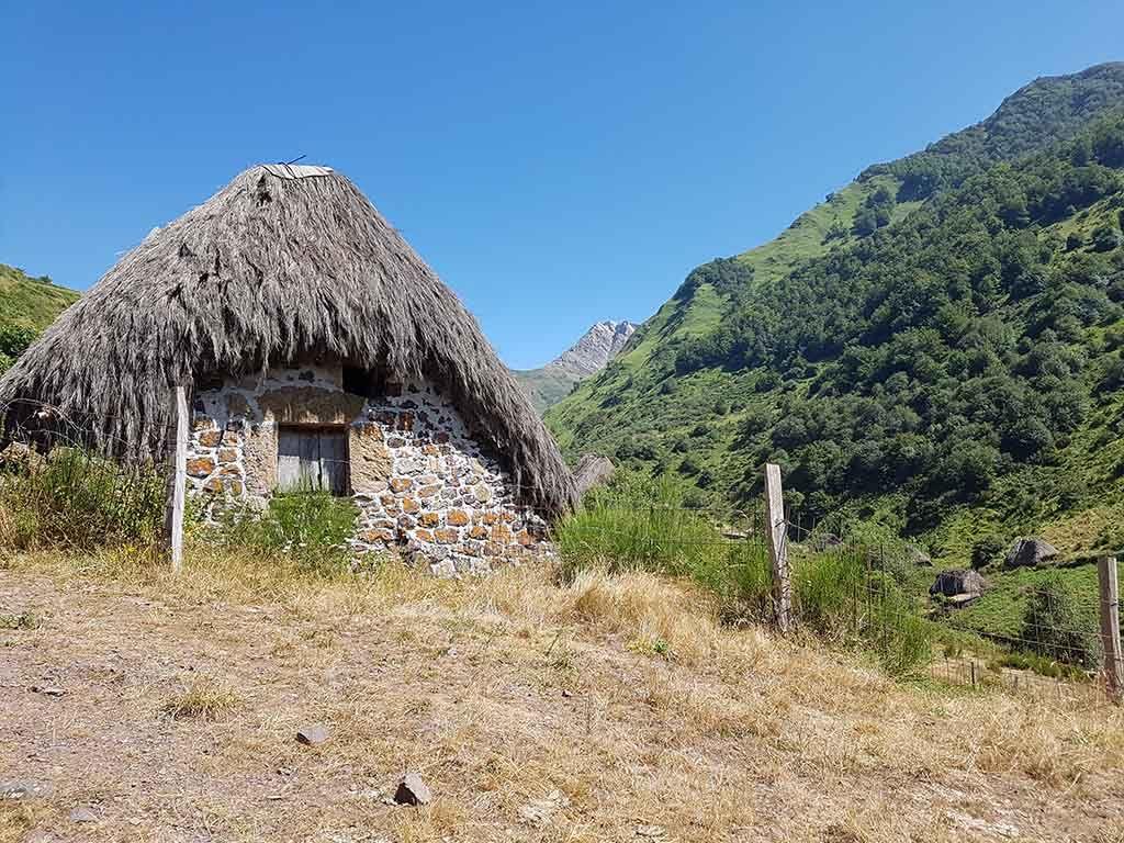 Braña de La Pornacal, en el Parque Natural de Somiedo