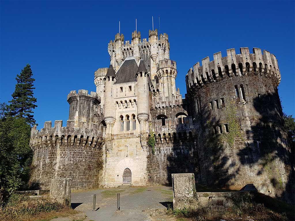 Castillo de Butrón, cerca de Bilbao