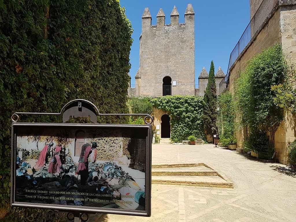 Escena de Juego de Tronos en el castillo cerca de Córdoba