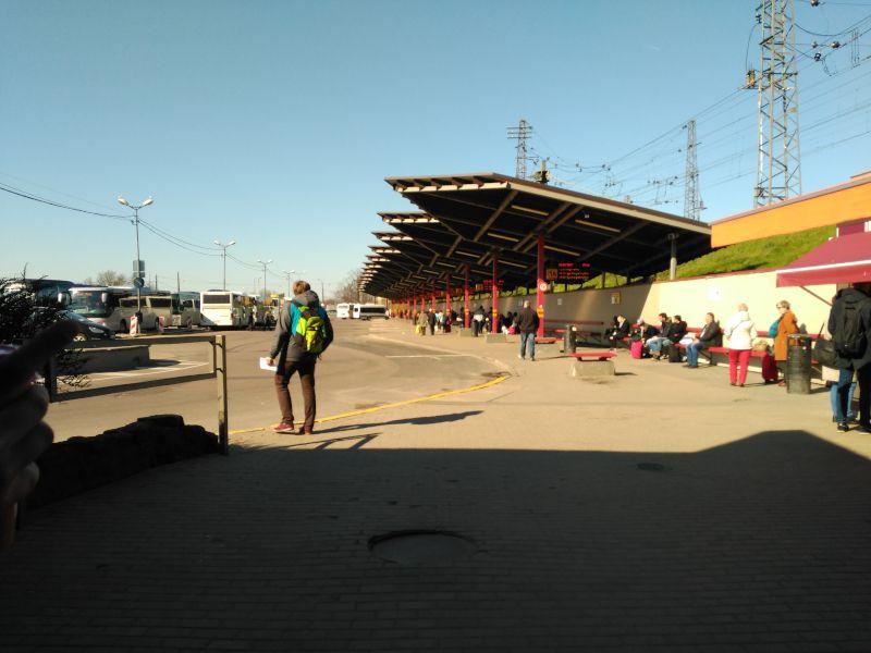estación de autobús de riga