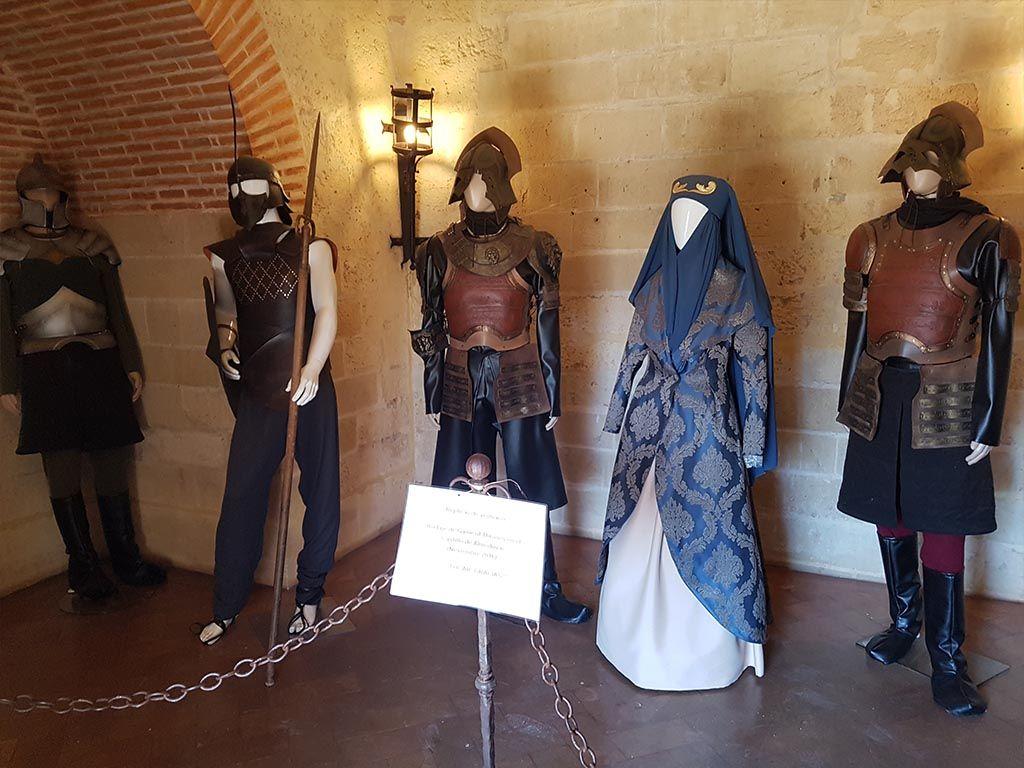 Trajes de Juego de Tronos en el castillo de Almodóvar del Río