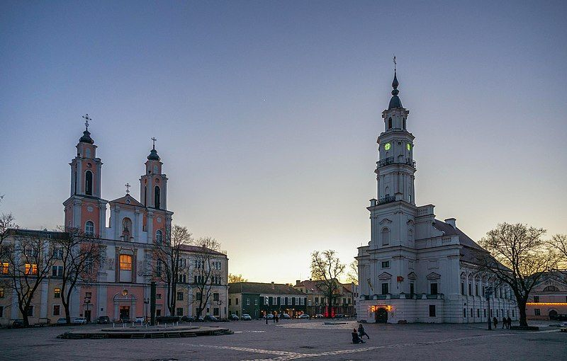 plaza ayuntamiento de kaunas