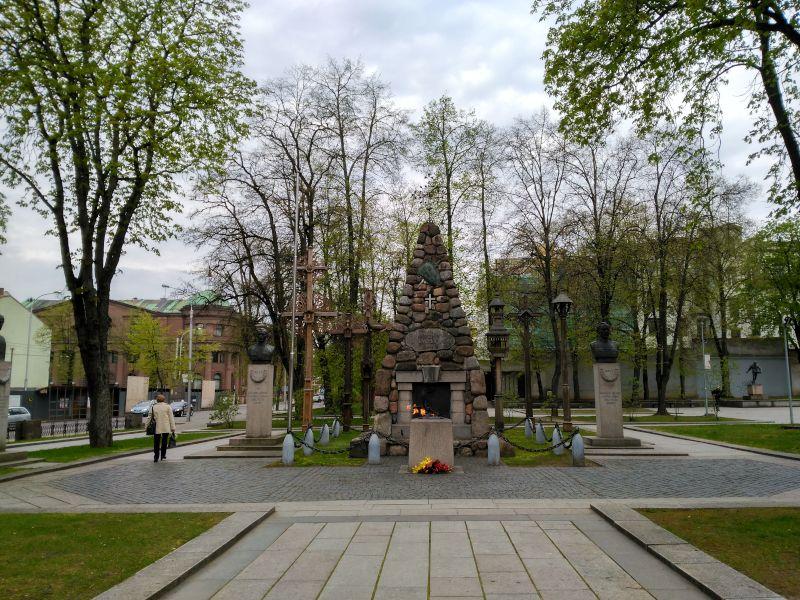 monumento libertad kaunas