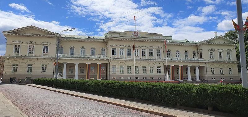 palacio presidencial vilna lituania