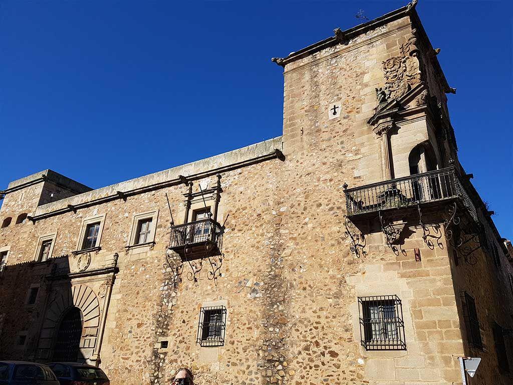 Palacio de Godoy, en Cáceres