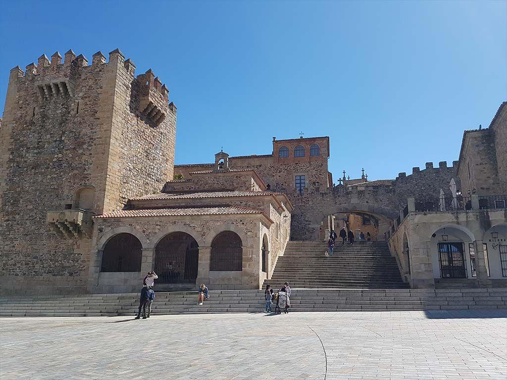 Torre de Bujaco, en Cáceres