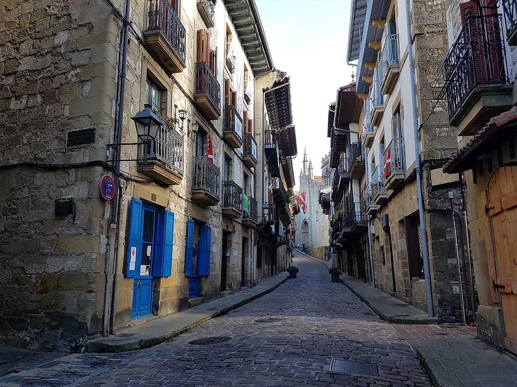 Calle Mayor de Hondarribia