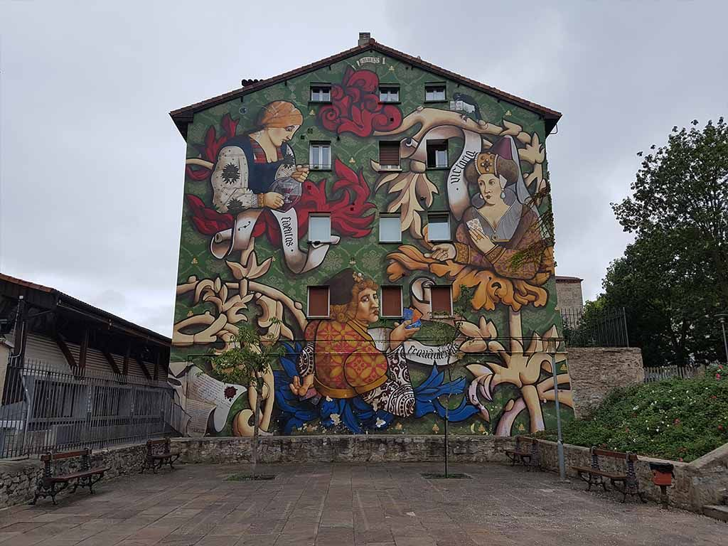 Mural del Triunfo de Vitoria