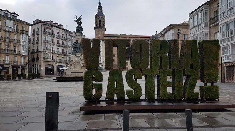 Plaza de la Virgen Blanca, en Vitoria