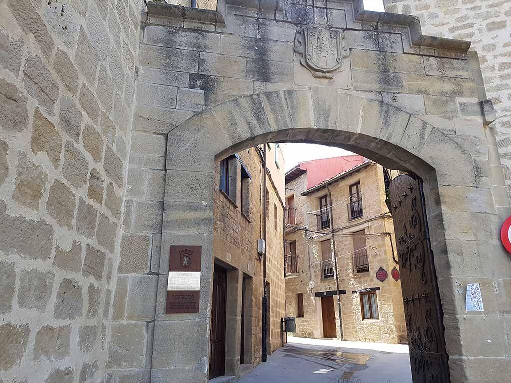 Puerta de Santa Engracia, un lugar que ver en Laguardia