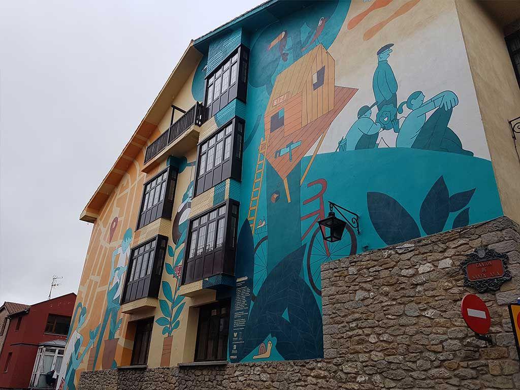 Ruta de los murales de Vitoria