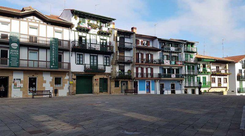 Visitar Hondarribia y su plaza de Armas