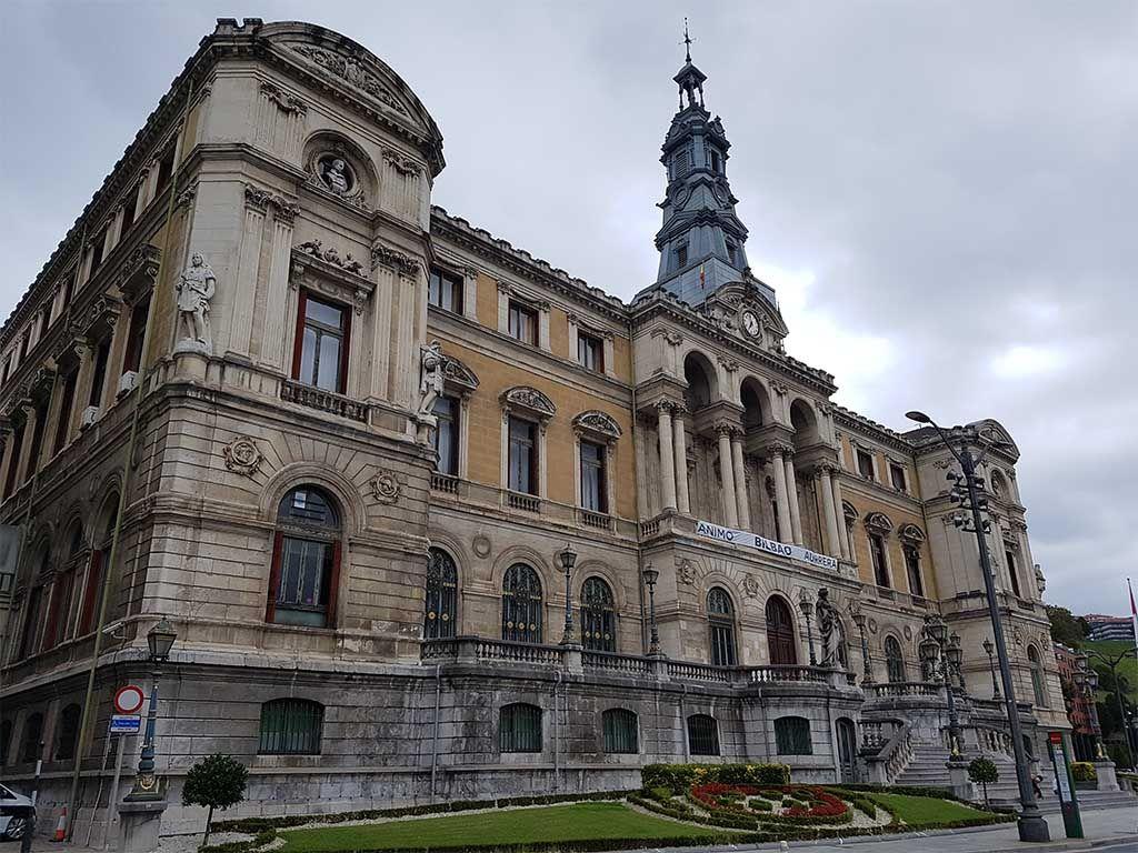 Edificio del Ayuntamiento de Bilbao