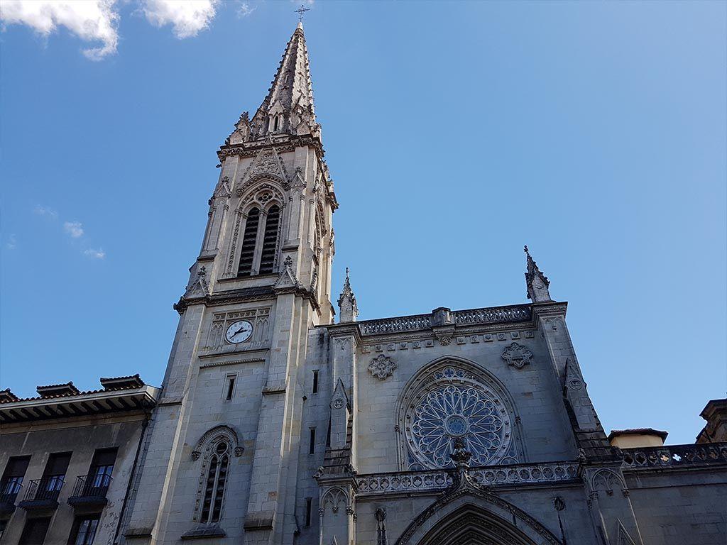 La catedral de Santiago de Bilbao