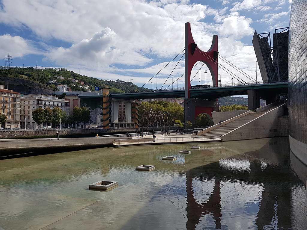 Puente de La Salve, en Bilbao
