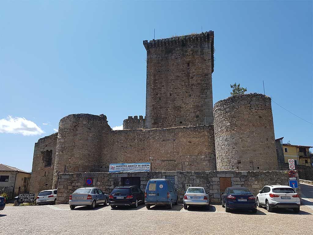 Castillo de los Zúñiga, en Miranda del Castañar