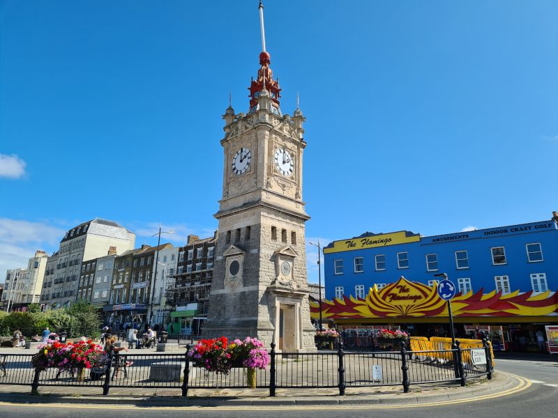 torre del reloj margate